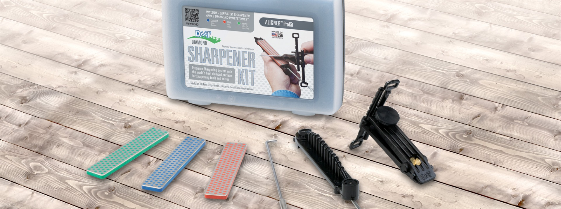 Aligner™ Easy Edge-Guided Knife Sharpening Kit