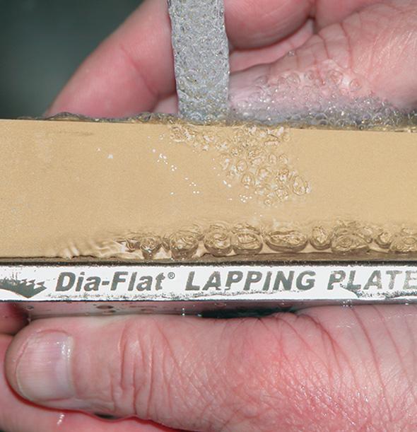 Flattening / Lapping